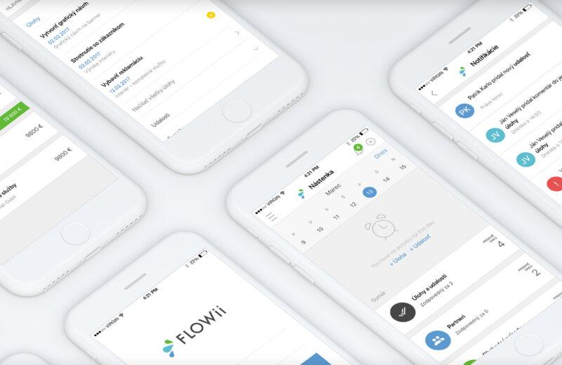 FLOWii mobilní aplikace již brzy ve vašich smartphonech
