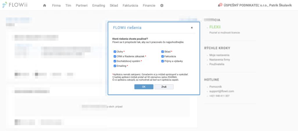 Ako vybrať správnu aplikáciu a riešenie vo FLOWii